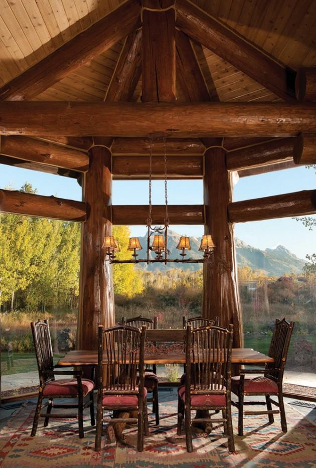 15 Elegant Rustic Dining Room Interior Designs For The Winter Season