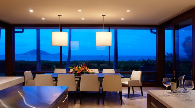 15 Exotic Tropical Dining Room Designs To Enjoy The View While Eating
