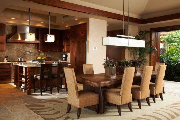 Open Plan Kitchen Dining Room Lounge