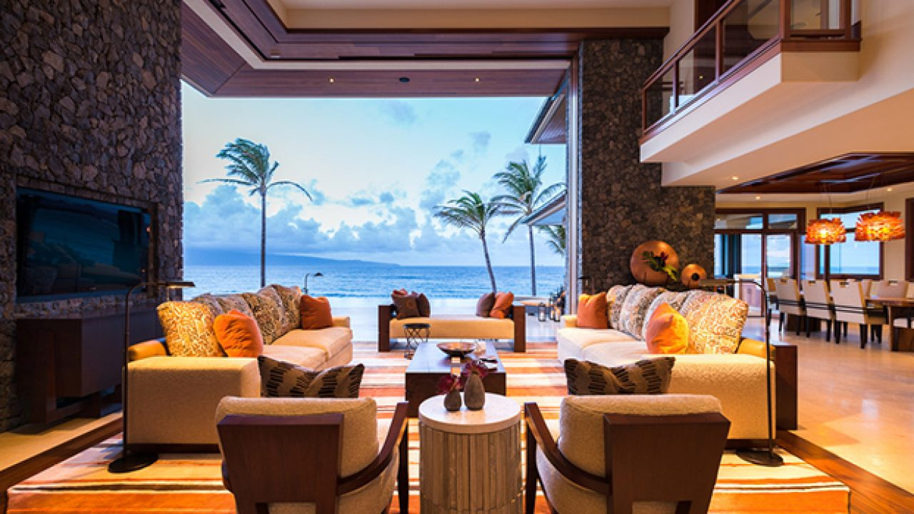 15 Exotic Tropical Living Room Designs To Make You Enjoy The View ...