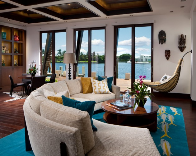 Lovely 15 Exotic Tropical Living Room Designs To Make You Enjoy The View Even More