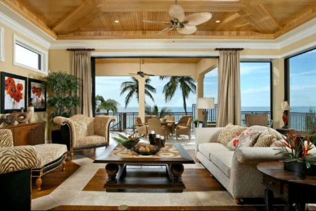 15 Exotic Tropical Living Room Designs To Make You Enjoy The View