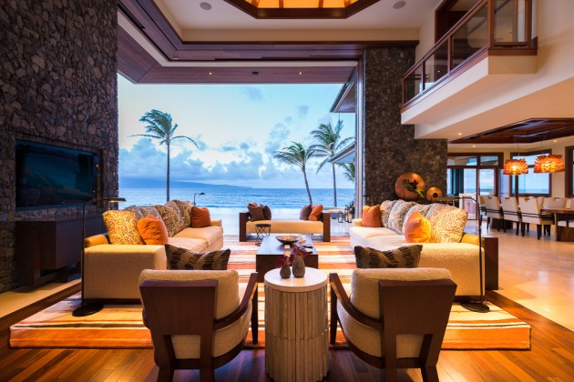 Superb 15 Exotic Tropical Living Room Designs To Make You Enjoy The View Even More