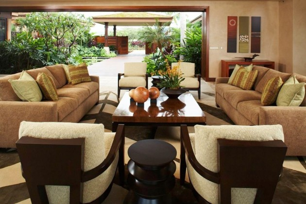 10 Large Living Room Ideas To Fall In Love With: 15 Exotic Tropical Living Room Designs To Make You Enjoy