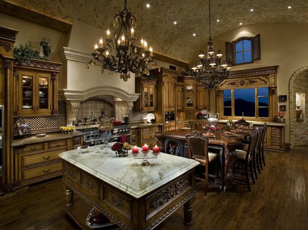 outstanding designer kitchens inspired exquisite | 15 Exquisite Mediterranean Kitchen Interior Designs For ...