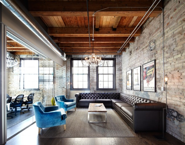 15 Fascinating Industrial Living Room Designs That Turn Warehouses Into Homes