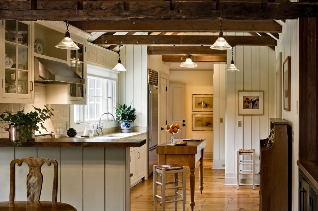 15 Lovely Farmhouse Kitchen Interior Designs To Fall In ... on Rustic:fkvt0Ptafus= Farmhouse Kitchen  id=84741