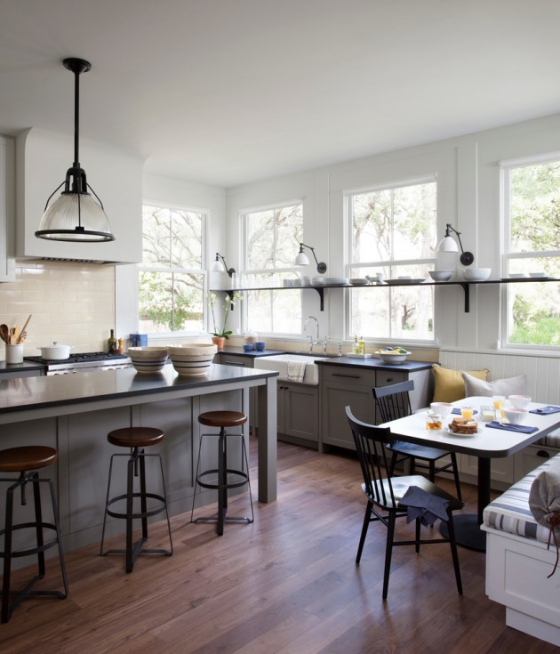 Modern Farmhouse Interior Design: 15 Lovely Farmhouse Kitchen Interior Designs To Fall In