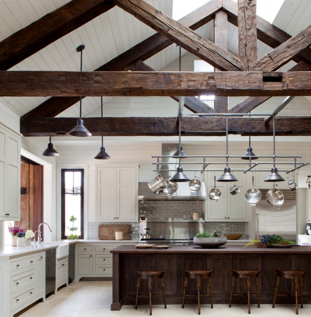 Home Interior Design Styles: 15 Lovely Farmhouse Kitchen Interior Designs To Fall In