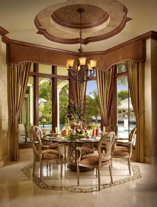 15 Magnificent Mediterranean Dining Room Designs Made Of Pure Luxury