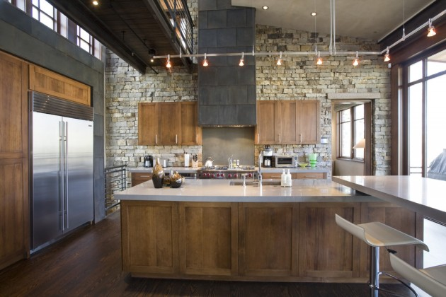 15 Memorable Industrial Kitchen Designs Youre Going To Like