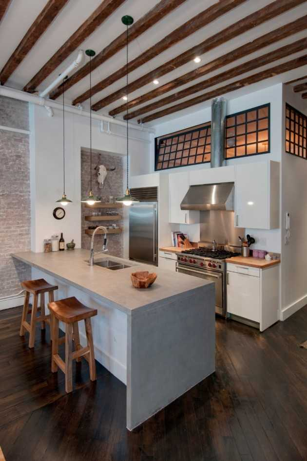 15 Memorable Industrial Kitchen Designs You're Going To Like