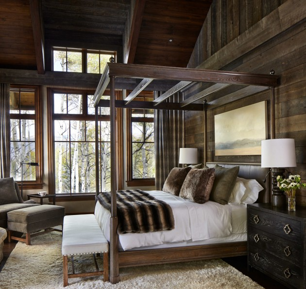 Rustic Bedroom Decorating Ideas: 15 Restful Rustic Bedroom Interior Designs That Will Make