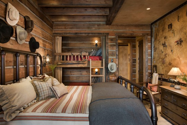 15 restful rustic bedroom interior designs that will make for Chambre western