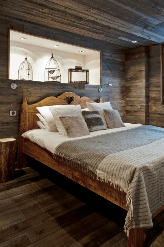 15 Great Rustic Hallway Designs That Will Inspire You With Ideas: 15 Restful Rustic Bedroom Interior Designs That Will Make You Sleep Nice