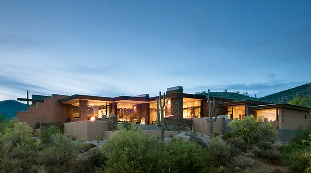 Contemporary Southwest Style Homes Home Design And Style