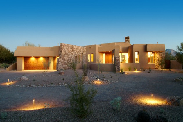 15 tremendous southwestern exterior designs of desert for Southwest architecture