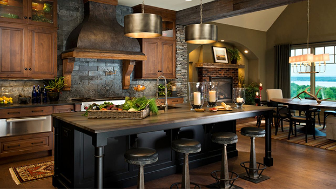 Image of: 15 Warm Rustic Kitchen Designs That Will Make You Enjoy Cooking