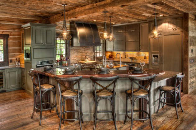 15 Warm Rustic Kitchen Designs That Will Make You Enjoy ... on Rustic:fkvt0Ptafus= Farmhouse Kitchen Ideas  id=49616