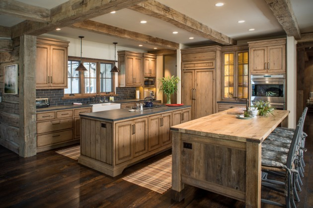 rustic kitchen designs 15 warm rustic kitchen designs that will make you enjoy 2054