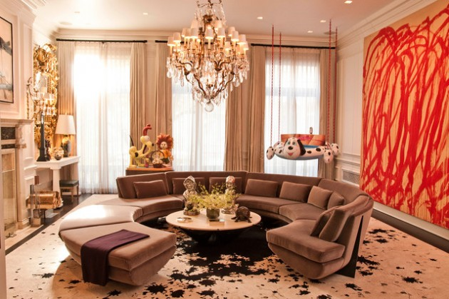 17 Classy Curved Sofa Designs For Every Sophisticated Contemporary Home