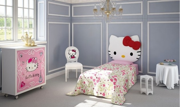 Bedroom Designs Hello Kitty lovely hello kitty room designs for your little princess