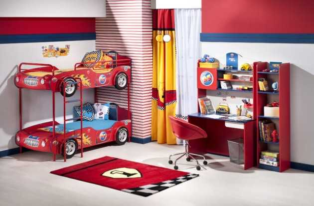 Super Cool Car Themed Childs Bedroom Designs - Car themed bedrooms