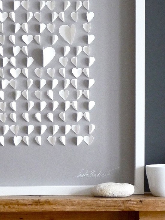 19 Outstanding DIY Wall Art Ideas For Unforgettable Valentines Day
