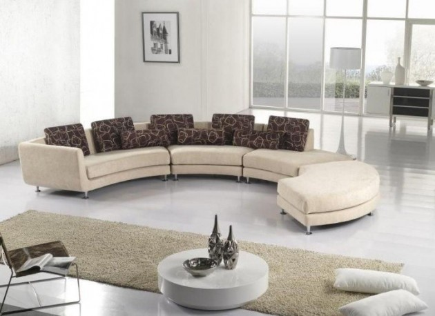 17 Classy Curved Sofa Designs For Every Sophisticated