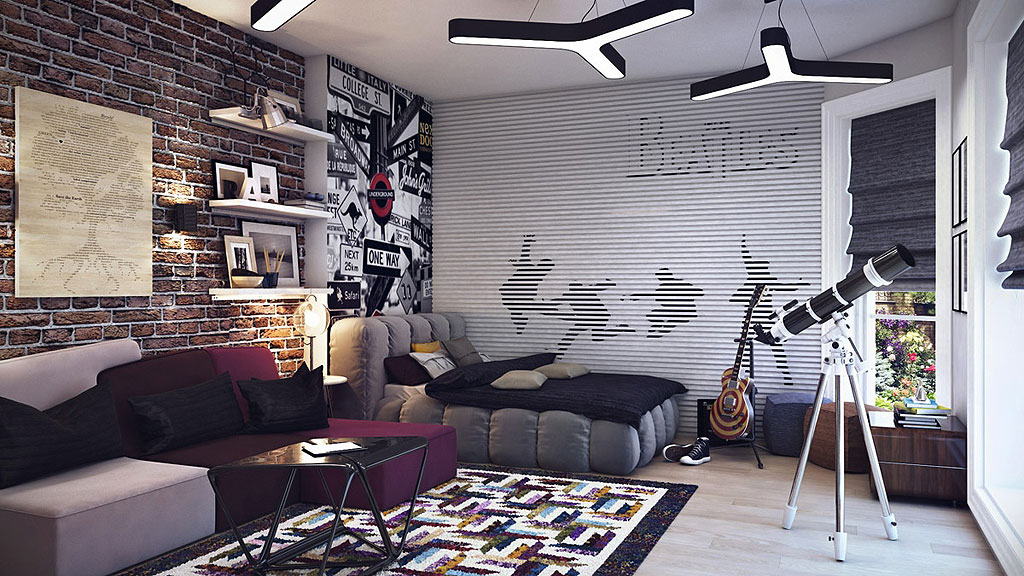 Really cool bedrooms for teenage boys Architecture Art Designs 16 Adorable Teen Room Design Ideas For Boys