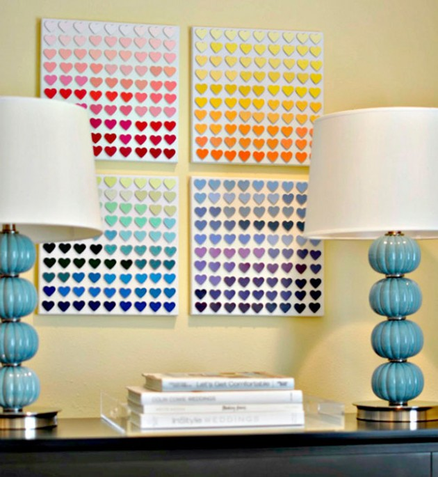 25 Extremely Amazing DIY Wall Art Ideas That You Can Do For Less Than Hour