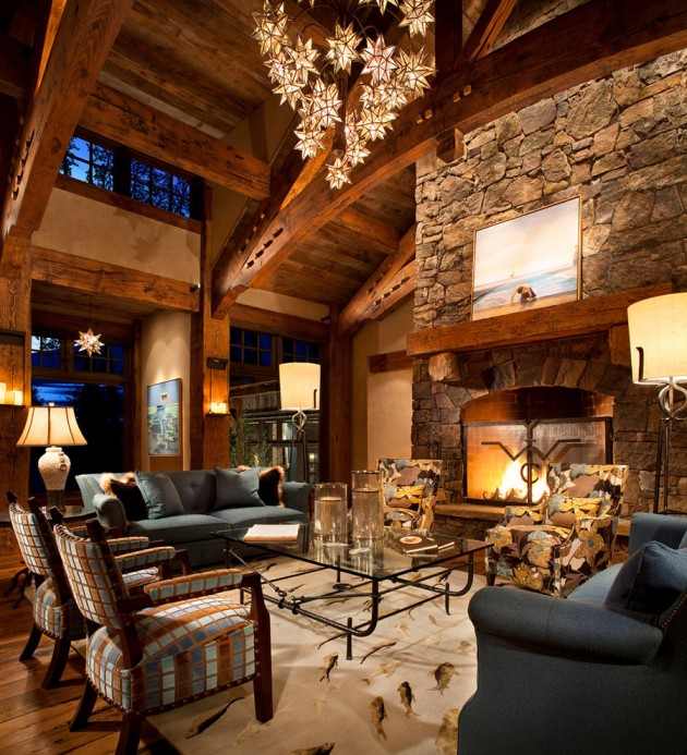 Contemporary Home Designs: 20 Cozy Rustic Living Room Designs To Ensure Your Comfort