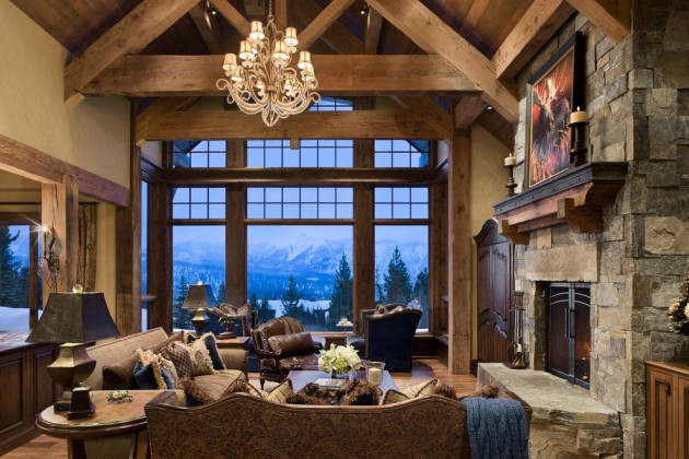 Family Room Design Cozy