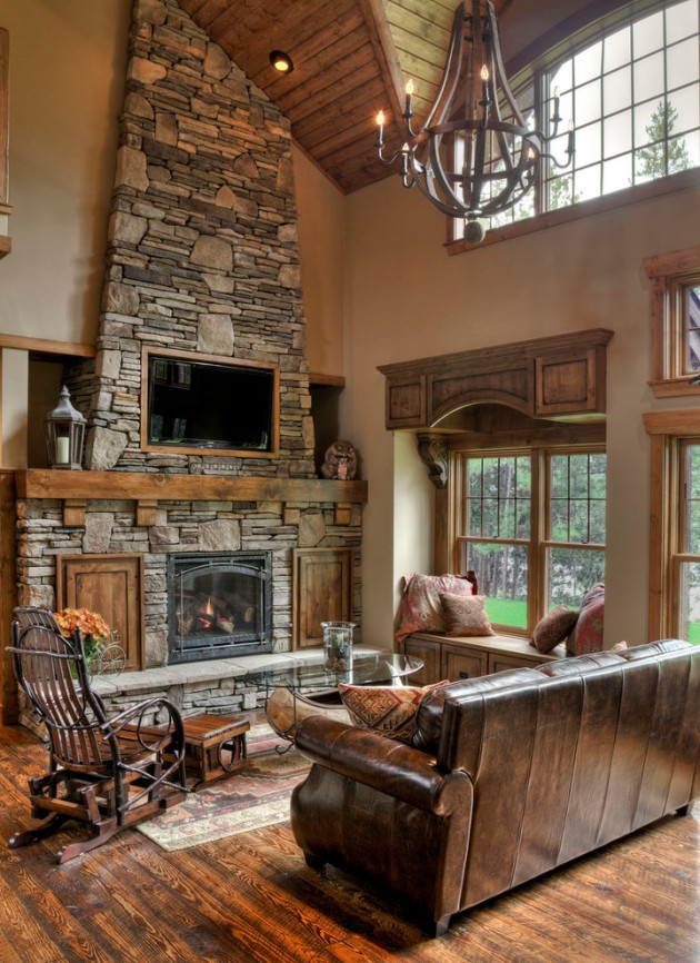 Rustic Living Room: 20 Cozy Rustic Living Room Designs To Ensure Your Comfort