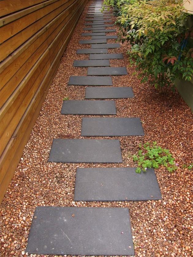 12 Beautiful DIY Garden Walkway Designs