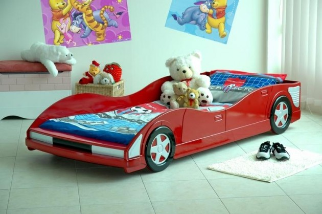 15 Super Cool Car Themed Child's Bedroom Designs