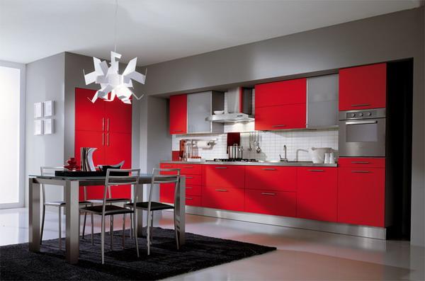 10 Dramatic Colorful Kitchen Design Ideas