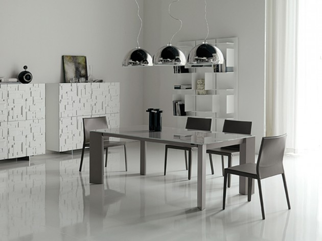 10 Stylish & Charming Minimalist Dining Rooms for Two