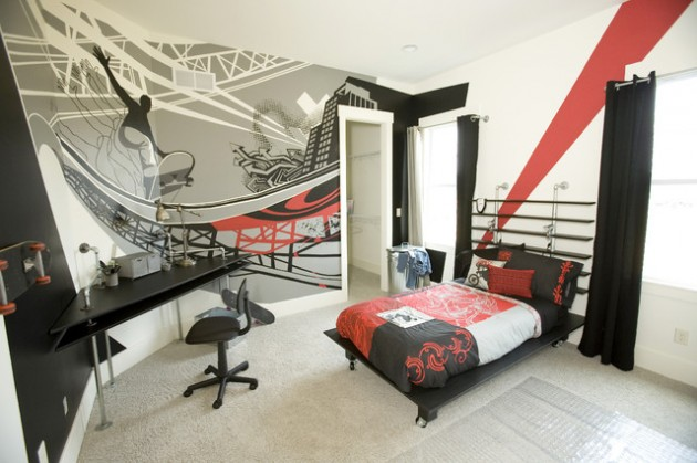 16 Adorable Teen Room Design Ideas for Boys