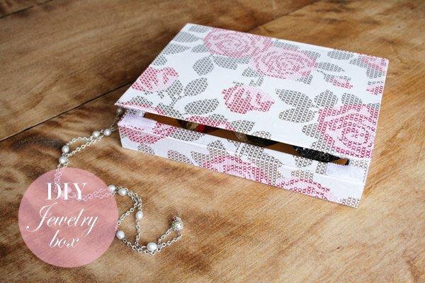 15 Fascinating DIY Jewelry Box Ideas