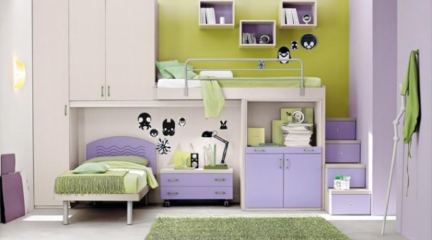 16 Functional Space Saving Small Child's Room Design Ideas