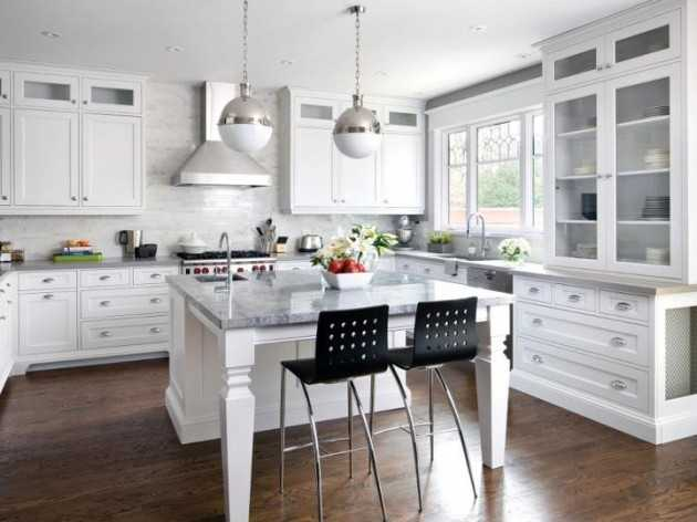 18 Simply Adorable White Kitchen For All People Who Love Elegance