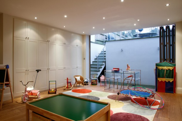 16 Joyful Basement Playroom Designs for Your Dearest