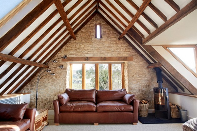 14 Beautiful Attic Living Rooms For Real Enjoyment