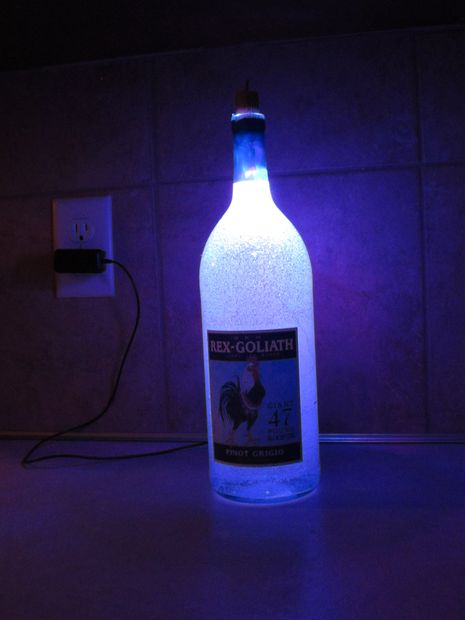 19 Inexpensive & Creative DIY Wine Bottle Lighting Ideas