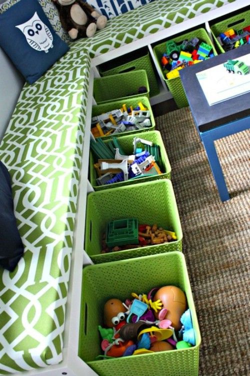 Top 25 Most Genius DIY Kids Room Storage Ideas That Every Parent ...
