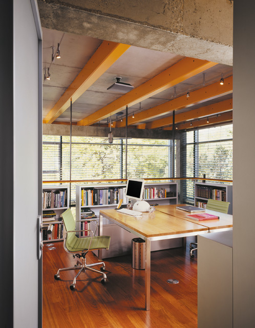14 fancy industrial home office designs Industrial home office design ideas