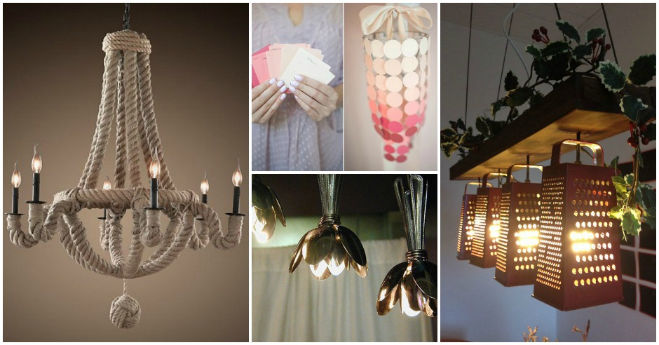 20 Extraordinary & Easy to Make DIY Chandeliers That Will Fascinate You