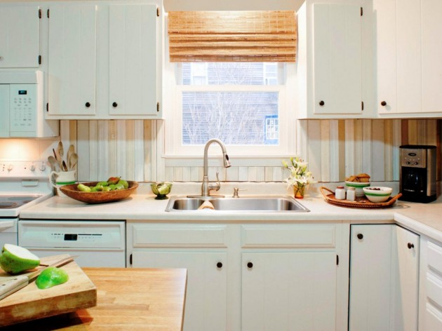 Diy Kitchen Cabinets Hgtv Pictures Do It Yourself Ideas: 17 Cool & Cheap DIY Kitchen Backsplash Ideas To Revive
