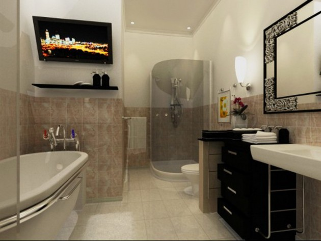 12 Luxurious Bathroom Design Ideas: 14 Luxury Small But Functional Bathroom Design Ideas